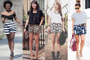 shorts estampado